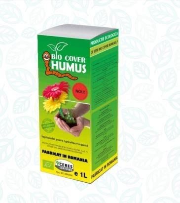 Ingrasamant Natural Organic - Vermicompost - Bio Cover Humus