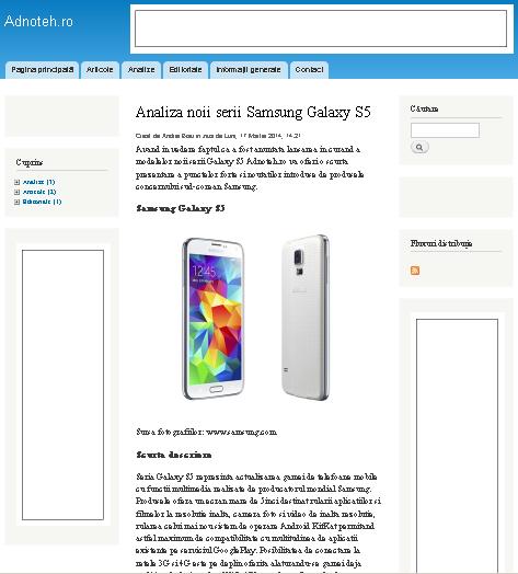 Adnoteh.ro - Revista on-line a tehnologiei