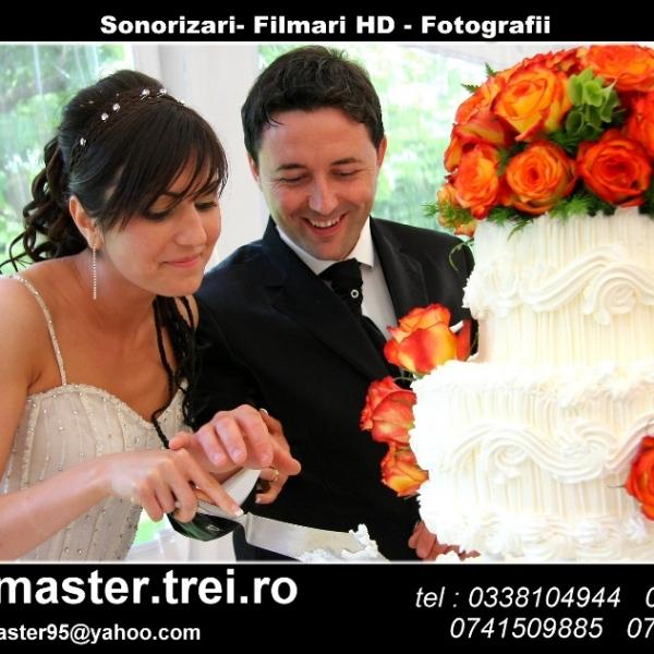Cameraman filmari nunti Buzau fotograf dj nunta