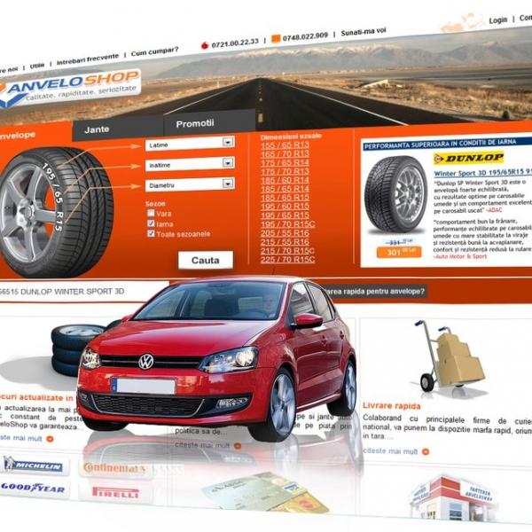 AnveloShop: magazin online de anvelope si jante