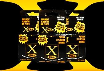 X-Pill, Pastile potenta, tratament ejaculare precoce, tratament impotenta,